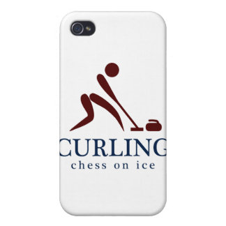 Curling: Chess on Ice iPhone 4 Case