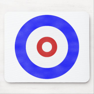 Curling Circle Iced Mouse Pads