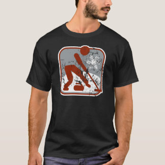 Curling_dd_used.png T-Shirt
