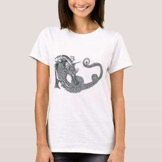 Curling Dragon T-Shirt