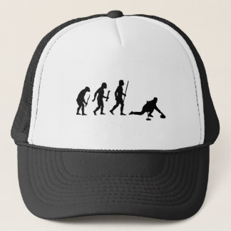 Curling Evolution Trucker Hat