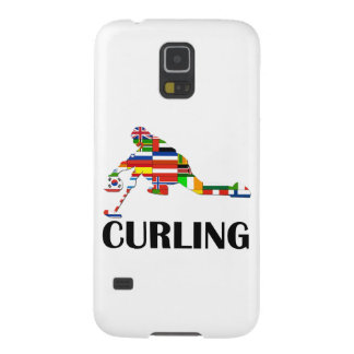 Curling Galaxy S5 Cover