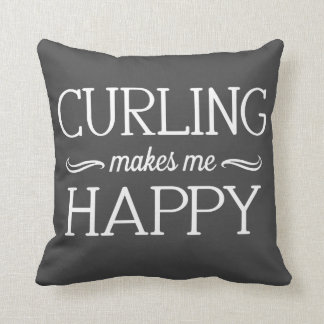 Curling Happy Pillow - Assorted Styles & Colors