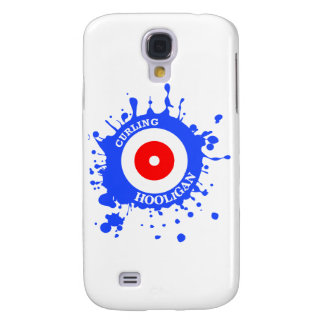 Curling Hooligan Samsung Galaxy S4 Covers