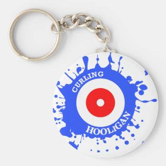 Curling Hooligan Keychain