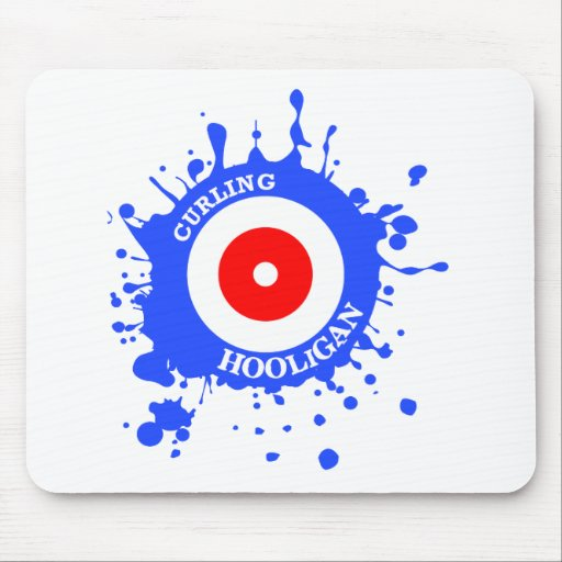 Curling Hooligan Mouse Pad
