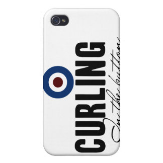 Curling: In The Button iPhone 4 Covers