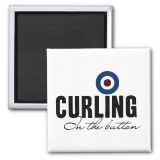 Curling: In The Button Magnet
