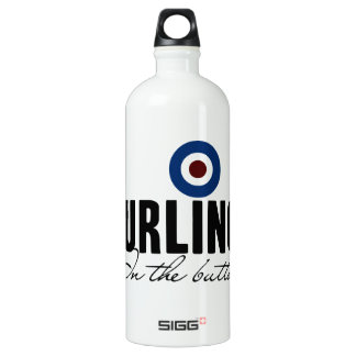 Curling: In The Button Water Bottle
