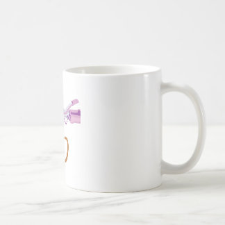 Curling Iron Classic White Coffee Mug