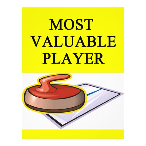 CURLING most valuable player Flyer