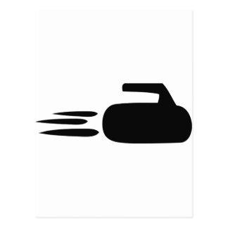 curling postcard