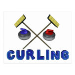 Curling Postcards