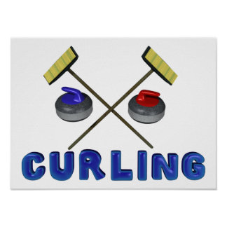 Curling Posters