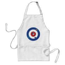 Curling rings adult apron