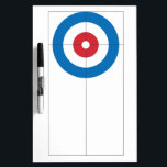 "Curling rings dry erase whiteboard<br><div class=""desc"">This curling rings dry erase whiteboard makes a great gift for any coach.</div>"