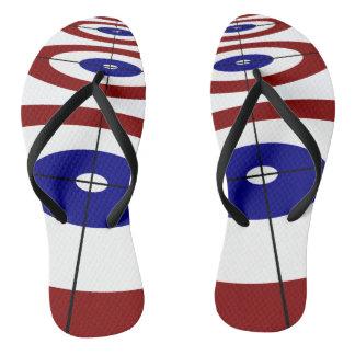 Curling Rings Flip Flops