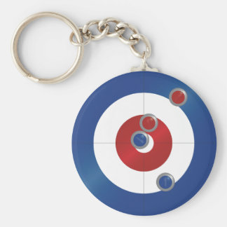 Curling rings keychain