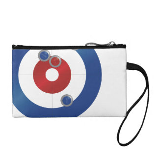 Curling rings mini bag coin wallets