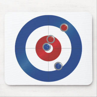 Curling rings mouse pad