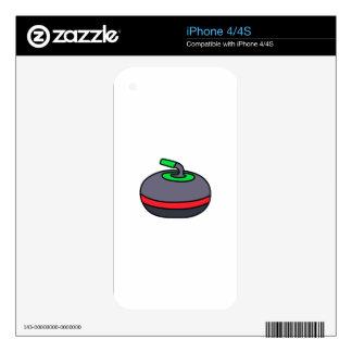 Curling Rock iPhone 4S Skins