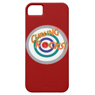 """""""Curling Rocks"""" 2014 Olympics iPhone 5 Cover"""