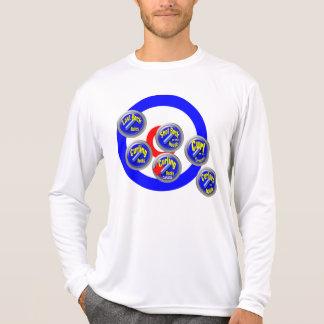 Curling Rocks Canada Tee Shirts