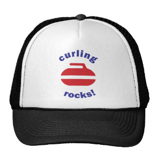 Curling Rocks cap Trucker Hat