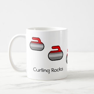 Curling Rocks Coffee Mug