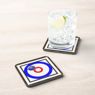 Curling Rocks Coasters