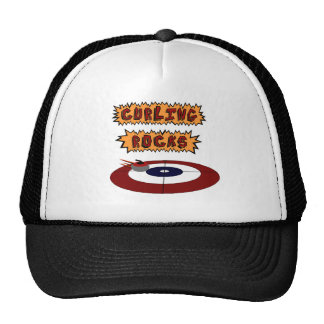 Curling Rocks Trucker Hat