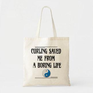 Curling Saved Me Tote Bag