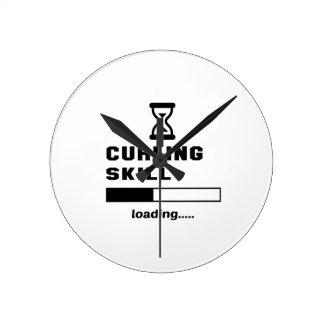 Curling skill Loading...... Round Clock