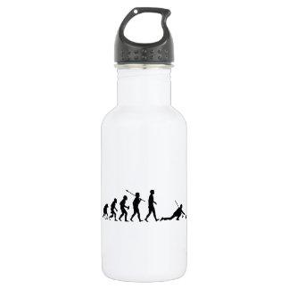 Curling Stainless Steel Water Bottle