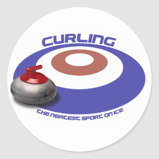 CURLING sticker