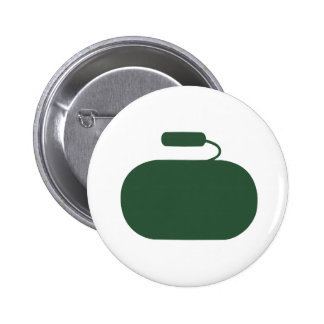 Curling Stone Button