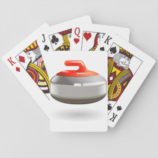 Curling Stone Playing Cards