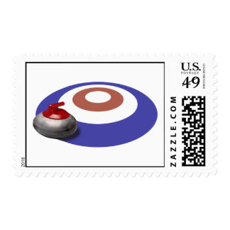 Curling Stone postage