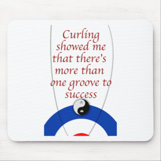 Curling Success Mouse Pad