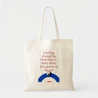 Curling Success Tote Bag