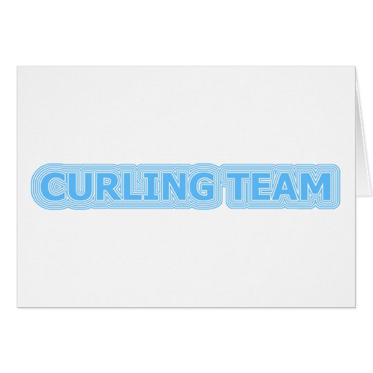 [ Curling Team ] Retro Reverb Collector's Edition Card