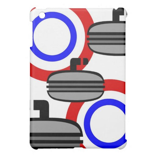 Curling Tees and Gifts for Kids, Adults iPad Mini Cover