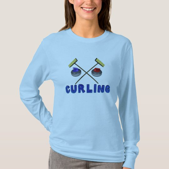 Curling Tees for Women