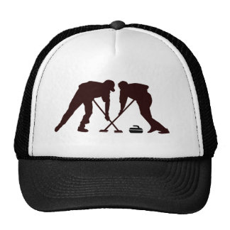 Curling Trucker Hat