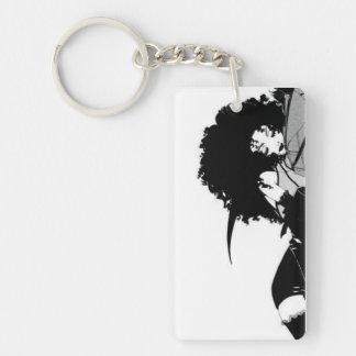Curls Keychain