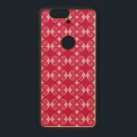 """Curls Pattern Wood Nexus 6P Case<br><div class=""""desc"""">Curls pattern case.  Style and background color can be customized..</div>"""