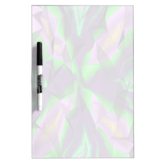 Curly abstract pattern dry erase board