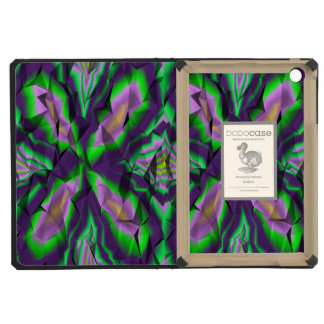 Curly abstract pattern iPad mini cases
