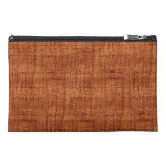 Curly Acacia Wood Grain Look Travel Accessories Bag