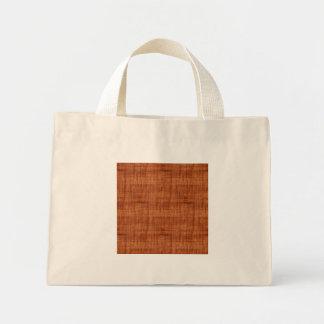 Curly Acacia Wood Grain Look Mini Tote Bag